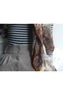 Vintage-oscar-de-la-renta-scarf-american-apparel-bodysuit-vintage-skirt