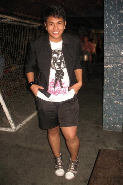 black warehouse jacket - white Zara shirt - black Dean and Trent shorts - silver