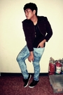 Brown-jacket-black-murano-shirt-blue-folded-and-hung-jeans-black-topman-sh