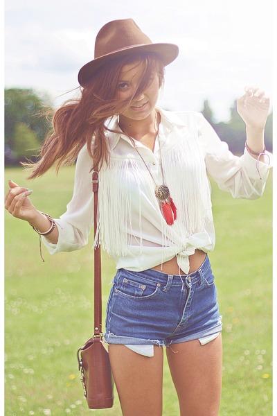tassle Zara shirt