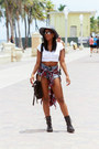 Black-lace-up-express-boots-sky-blue-distressed-mink-pink-shorts