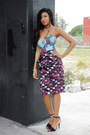 Yousra-dress-ashanti-brazil-dress-zara-heels