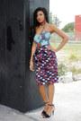 Yousra-dress-ashanti-brazil-dress-zara-heels