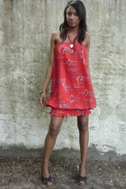 ruby red Adore Vintage dress