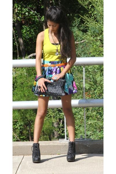 Forever 21 skirt - styleshopcom boots