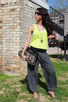 Forever 21 belt - Macys shoes - Claires purse - Claires necklace