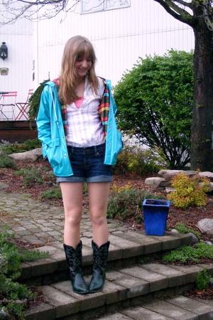 jacket - American Eagle shirt - Wrangler shoes