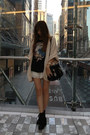 Black-rubi-shoes-black-chloe-bag-ivory-lace-zara-shorts