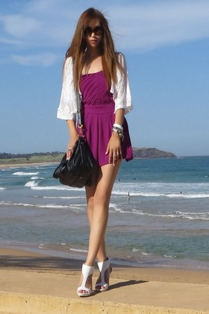 Dotti romper - Nine West shoes - Marc by Marc Jacobs bag - Gucci sunglasses