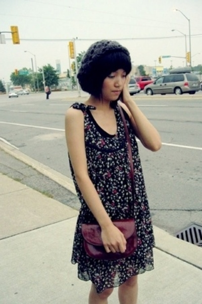 dress - purse - H&M top - Urban Planet