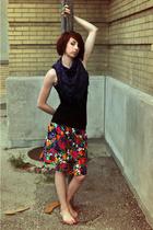 scarf - skirt