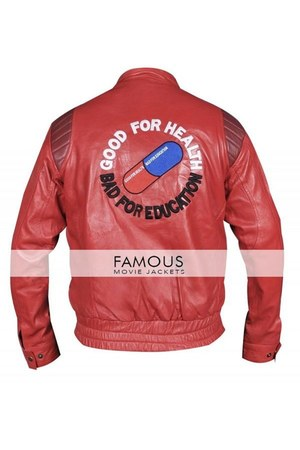 leather Akira Capsule Cosplay Red Motorcycle Lea jacket