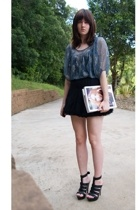 bardot skirt - supre dress - Wittner shoes