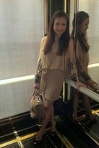 TFNC dress - Givenchy bag - Jimmy Choo heels