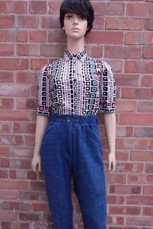 size 10 jeans - size8-10 blouse