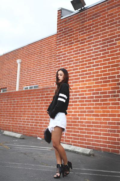 Zara sweater - Jamy heels