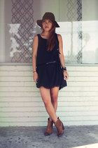 black In Love with Fashion dress - DV by dolce vita boots