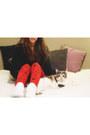 Victorias-secret-pink-boots-victorias-secret-pink-leggings