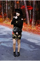 Baroque printes skirt