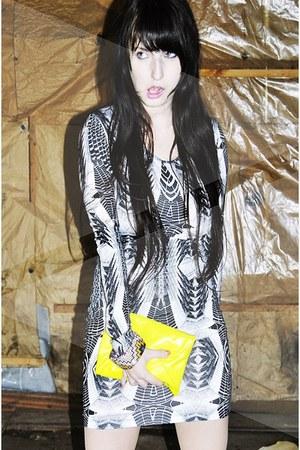 geomtric print H&M dress