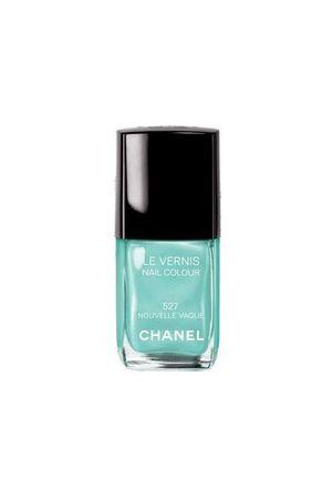 blue Chanel accessories