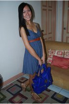 eyn dress - Aldo purse - sm dept belt - shoes