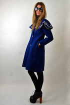 navy ribbon blazer Rock Paper Vintage coat - black liiiiiitas Jeffrey Campbell h