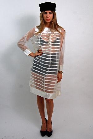white vintage from Rock Paper Vintage dress