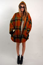 orange Rock Paper Vintage coat