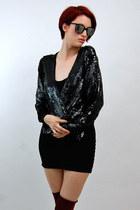 vintage from Rock Paper Vintage blazer - We Love Colors dress