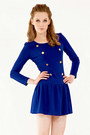 Royal-blue-knit-the1727-dress