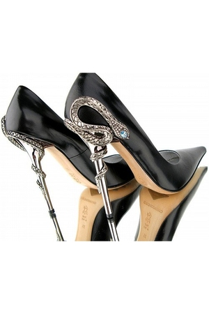 black Lorenzi shoes