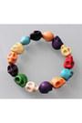 Plastic-elastic-lovelylovelyme-bracelet