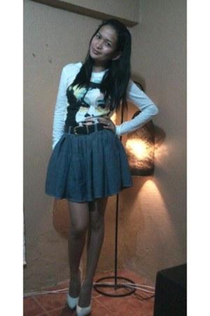 Mango top - maong Mango skirt