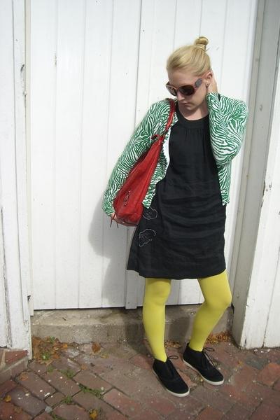 da nang dress - balenciaga purse - banana republic sweater - Urban Outfitters ti