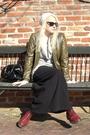 Black-skirt-green-jacket-red-doc-martens-boots-beige-ny-co-hat-black-ysl