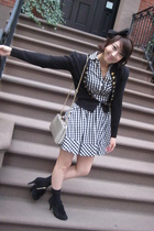 from Korea sweater - H&M dress - Anna Sui purse - from Korea shoes - H&M accesso