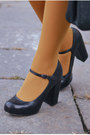 Mustard-calzedonia-tights-black-office-shoes