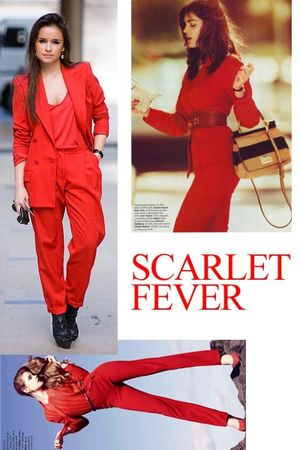 red suit - red - red - red