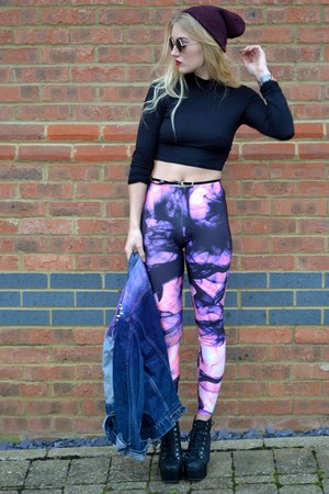 amethyst shouting smoke Lovelysally leggings