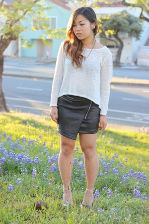 The Caravan skirt - Love Culture sweater - Zara heels