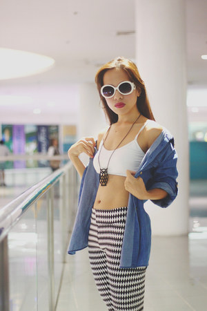 Pretty Munchkin leggings - SM GTW True love blazer - F&H pumps - random bra