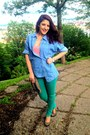 Bata-shoes-green-bershka-jeans-jeans-giani-jeroti-jacket