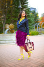Navy-marc-by-marc-jacobs-jacket-magenta-celine-bag-yellow-zara-blouse