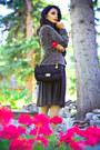Black-zara-skirt-crimson-zara-jacket-black-love-moschino-purse