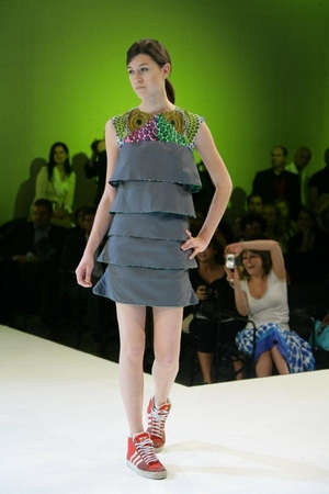 gray daniela rivano dress