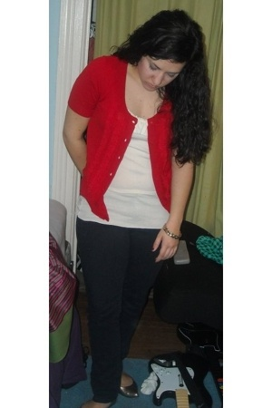 forever 21 sweater - Old Navy top - Delias jeans - Target shoes - forever 21 bra