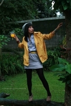 ambasador shop coat - Zara shoes - Fossil accessories - somewhere in singapore b