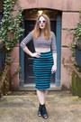 Necessary-clothing-t-shirt-forever-21-skirt