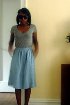 Leviss vintage skirt - Urban Outfitters shirt - Forever 21 shoes - Ebay glasses